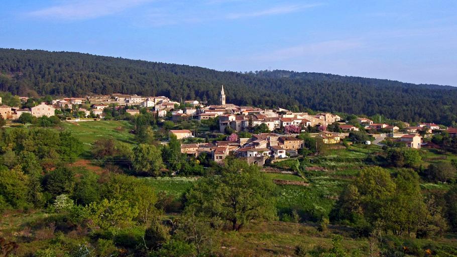 Le village de Fons
