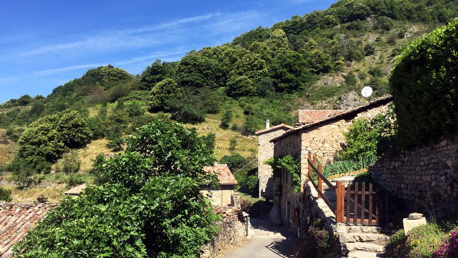 Le village de Juvinas