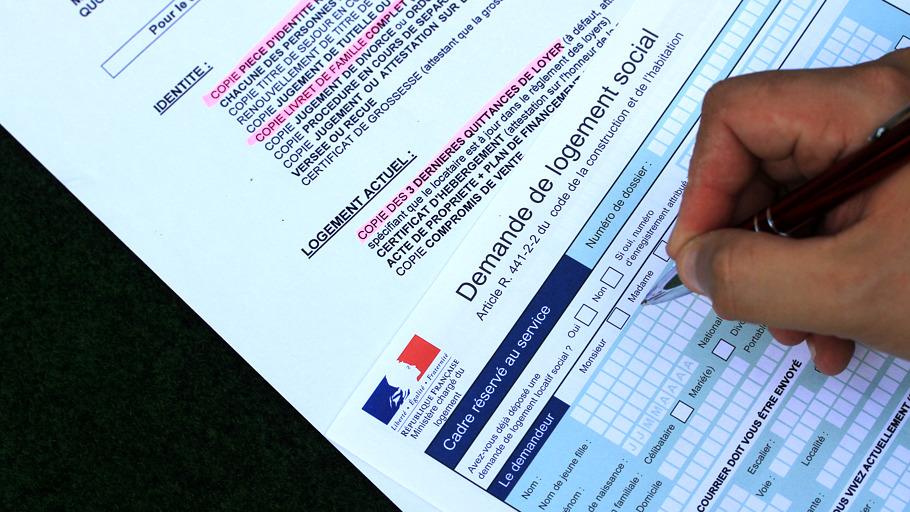 Documents de demande de logement social