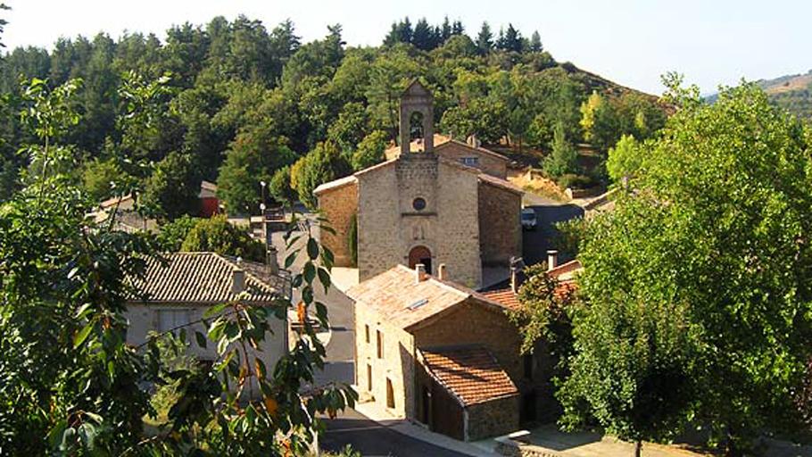 Vue sur le village de Saint-Joseph-des-Bancs