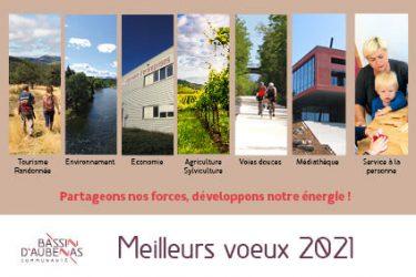 Vœux du président de la CCBA, Max Tourvieilhe