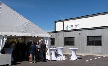 Inauguration de la nouvelle usine de l'imprimerie CHALVET