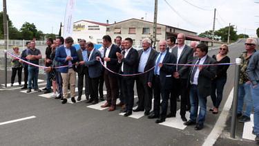 Inauguration Requalification de la ZAE de Lavilledieu