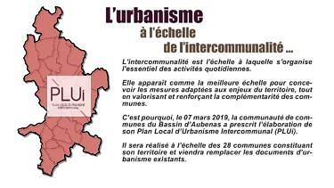 Le PLUi de la Communauté de Communes du Bassin d'Aubenas