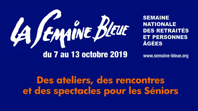 Visuel Semaine Bleue 2019
