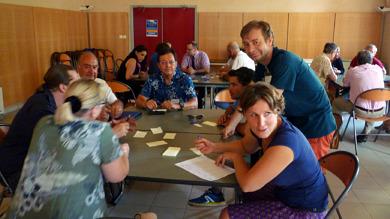 Citoyens réunis à l'occasion du Conseil Local de Développement de la Communauté de Communes du bassin d'Aubenas
