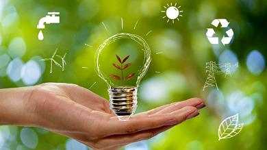 Illustration symbolisant la transition énergétique