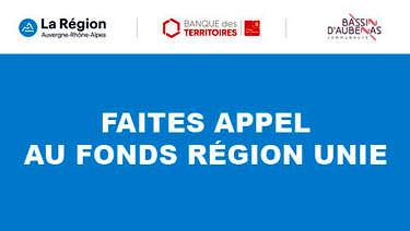 Soutien aux entreprises : le fonds Région Unie