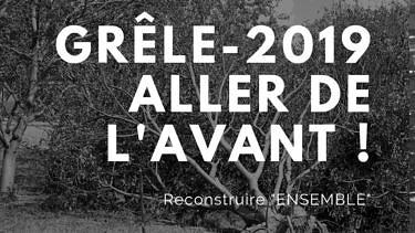 Grêle Ardèche 2019