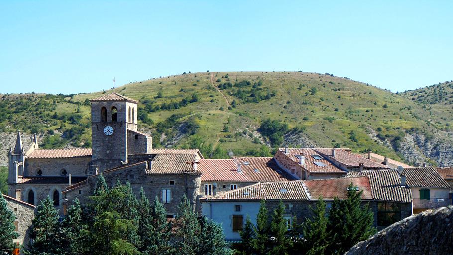 Vue sur Lachapelle-sous-Aubenas