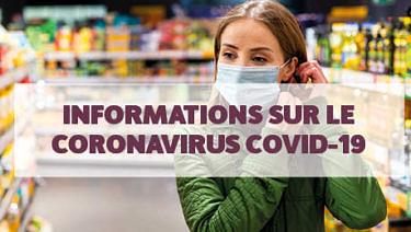 Coronavirus : informations utiles