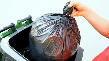 Les déchets ménagers non recyclables