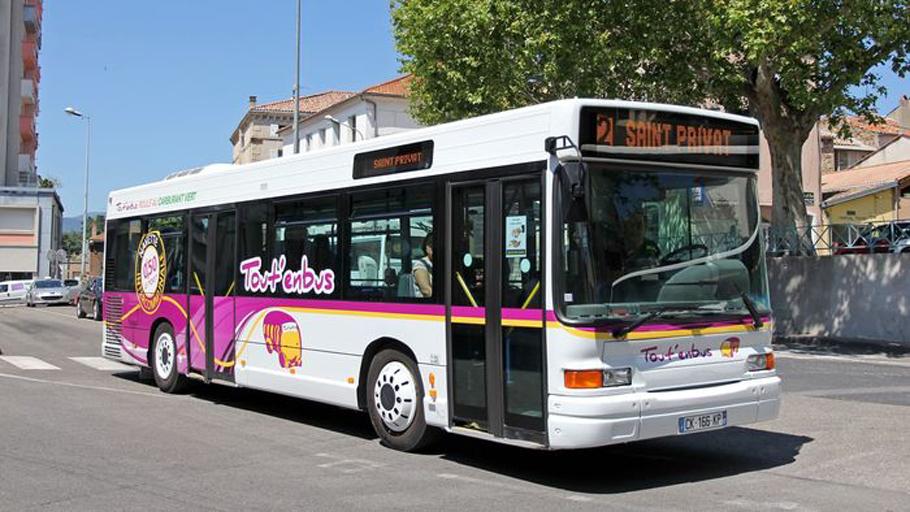 Bus pour le service Tout'en bus